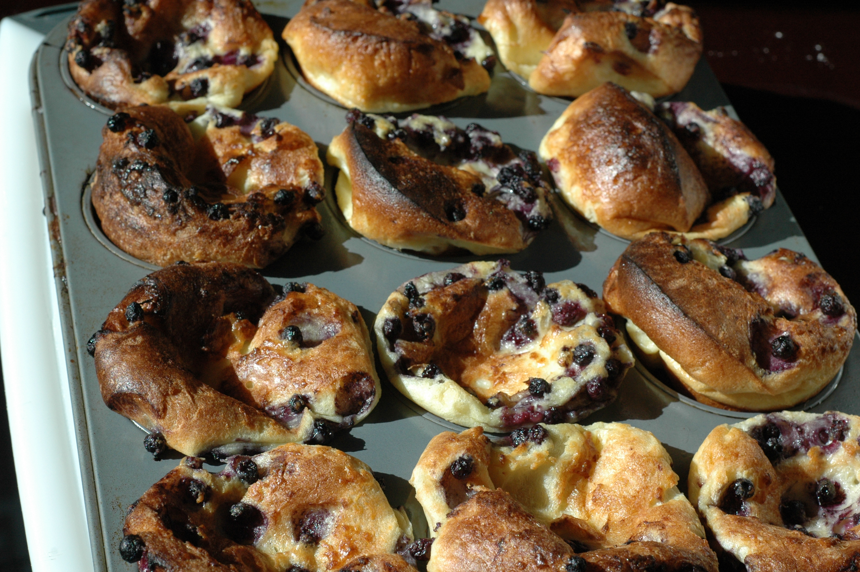 Wild Blueberry Popovers | Lessons in Food