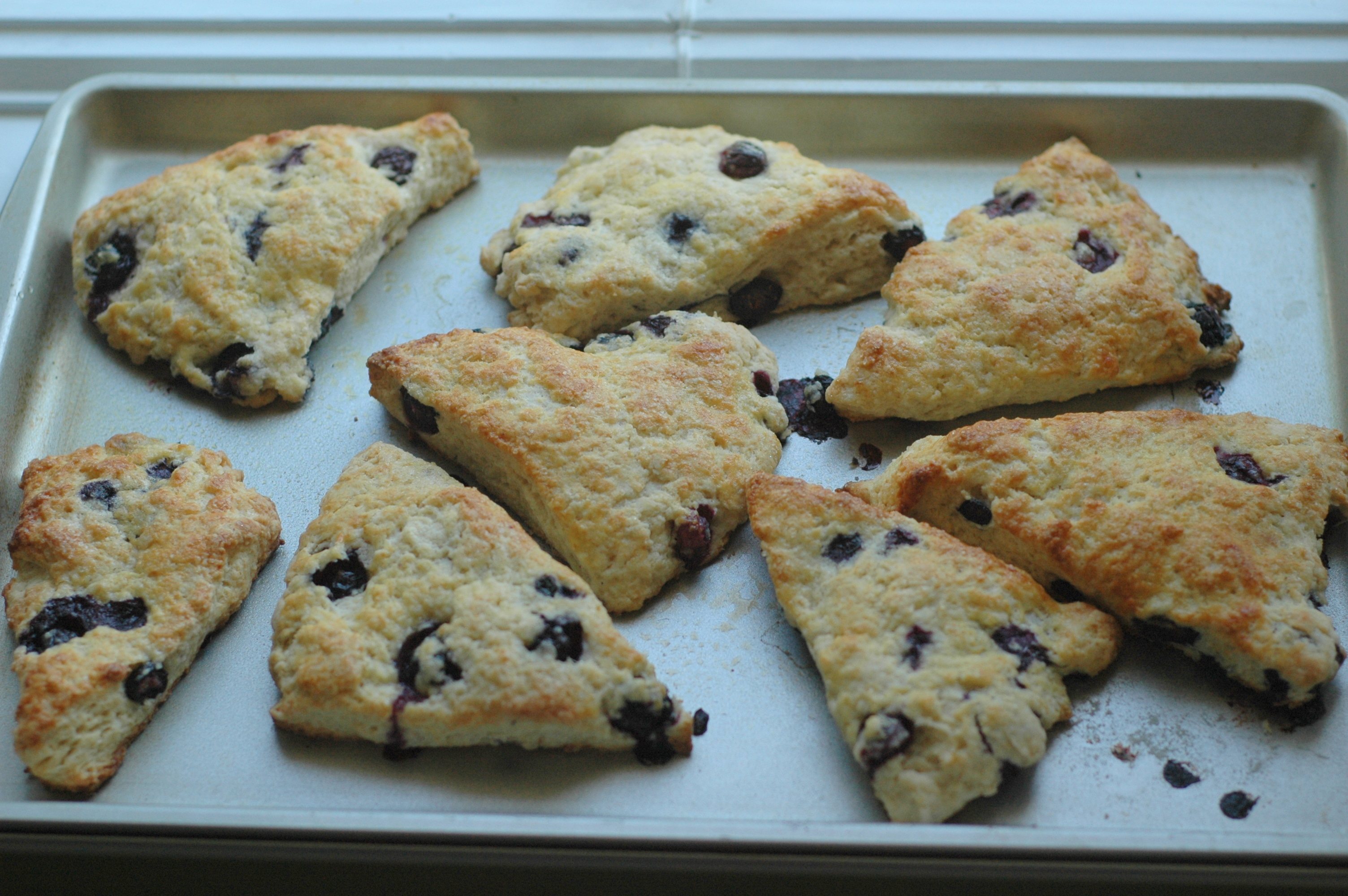 ... desserts: Blueberry Scones and Raspberry Mousse Pie | Lessons in Food